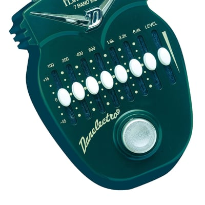 Danelectro Fish and Chips 7 Band EQ Effects Pedal for sale