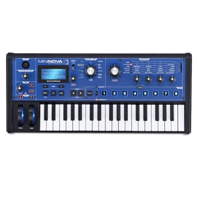 Novation MiniNova - 37-Key Analog Synthesizer w/ Vocoder / Authorized Dealer