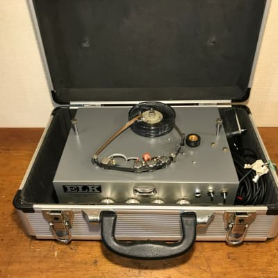 Rare Elk EM-5 Professional ECHO machine. A beautiful, warm tape echo unit with case and pedal. for sale