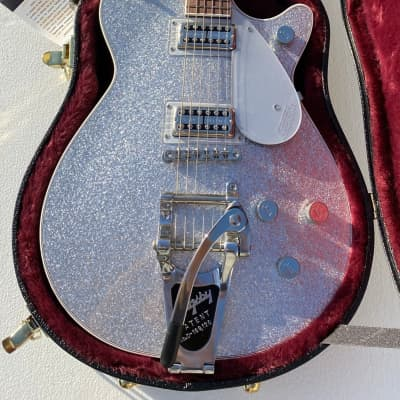 Gretsch G6129T Players Edition Jet FT with Bigsby 2018 - 2020 Silver Sparkle