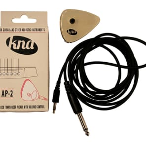 Kremona KNA AP-2 Piezo Acoustic Transducer Pickup w/ Volume Control & Free Same Day Shipping for sale