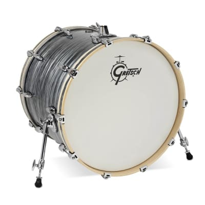 Gretsch Renown Component Drums : 18x22 Bass Drum Silver Oyster Pearl