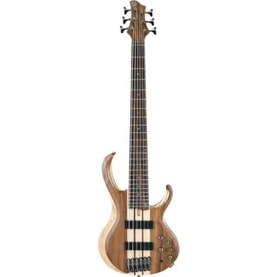 Ibanez BTB Standard BTB746 Electric Bass Guitar, Rosewood Fretboard, Natural Low Gloss for sale