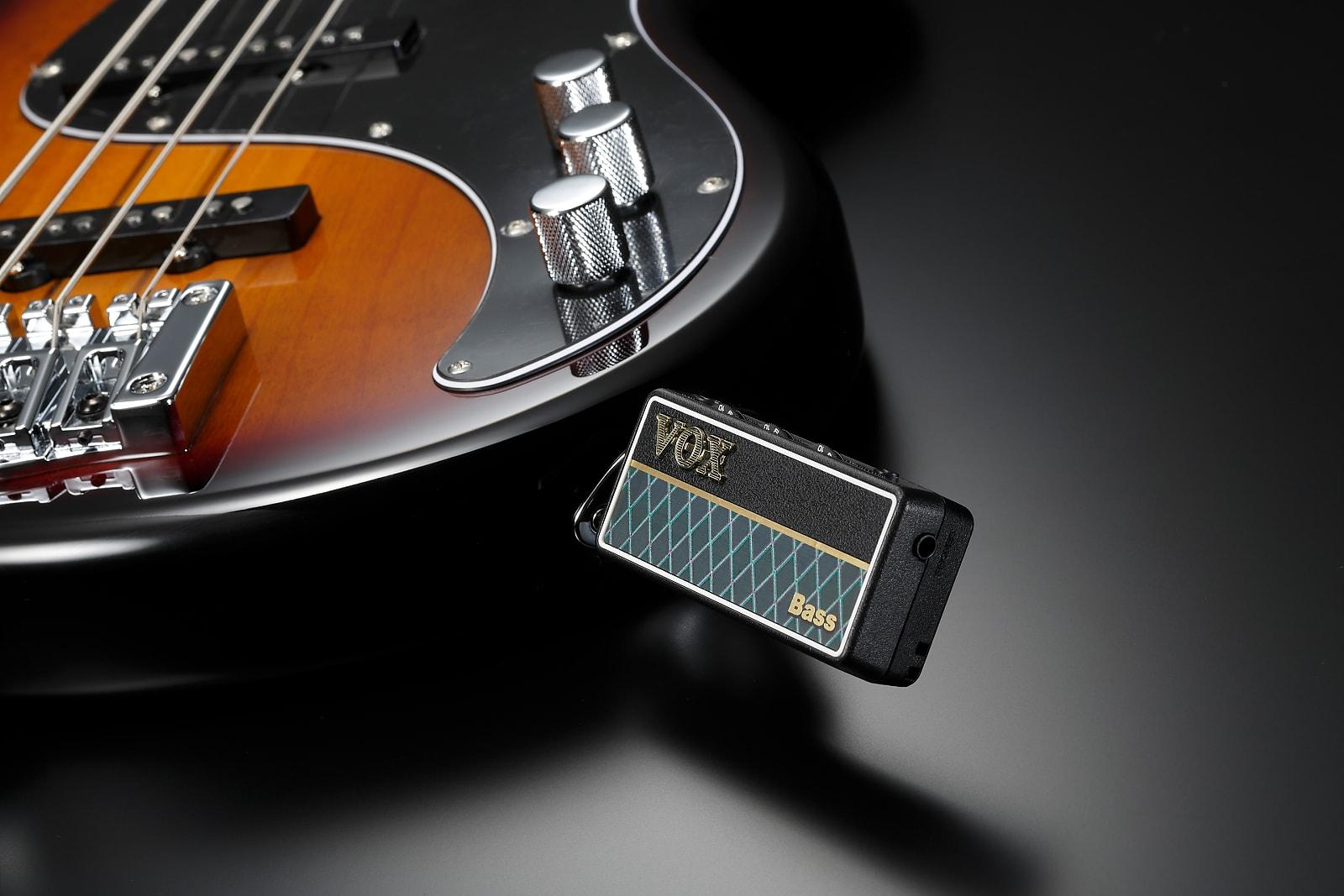 Vox amPlug 2 Bass Battery-Powered Guitar Headphone Amp AP2-BS