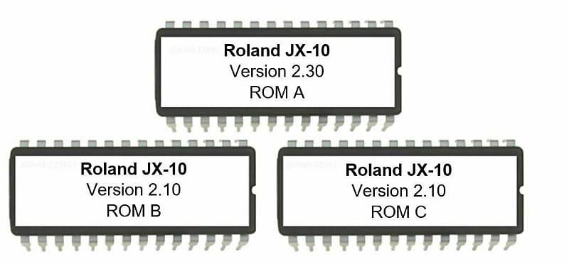 Roland JX-10 - Version 2 30 & board roms 2 10 Firmware Upgrade Update for  JX10