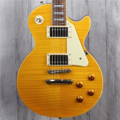 Epiphone Les Paul Standard Plus Top, Trans Amber, Second-Hand for sale