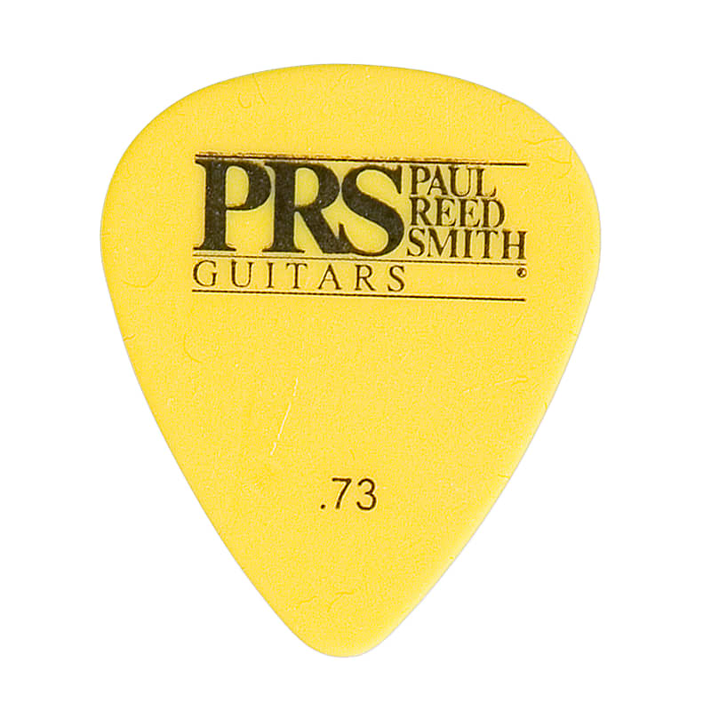Paul Reed Smith PRS Yellow Delrin .73mm Guitar Picks (12 Pack)