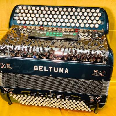 Beltuna Midi 5 Row Chromatic 2005 Green