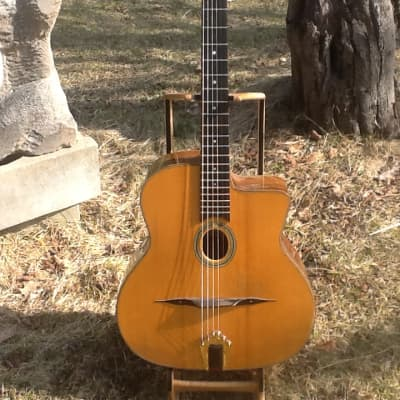 Gypsy Jazz Dell'Arte Jimmy Rosenberg 2003 Clear finish for sale
