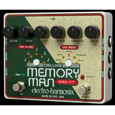 Electro-Harmonix Deluxe Memory Man 550-TT Delay Pedal for sale