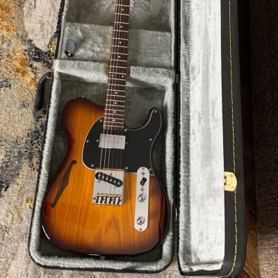 G&L G&L ASAT Classic Bluesboy  2016 Old School Tobacco Burst for sale