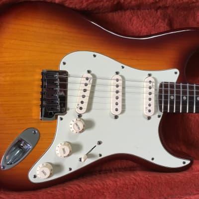 Fender American Deluxe Stratocaster 2011 Siena Burst for sale
