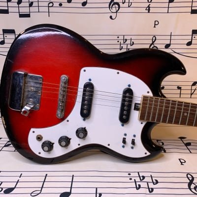 Audition Electric Guitar from the 60's  Made in Japan. for sale