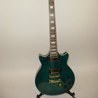 2013 Epiphone Limited Edition Deluxe PRO Electric Guitar - Midnight Sapphire for sale