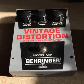 Behringer VD1 Vintage Distortion