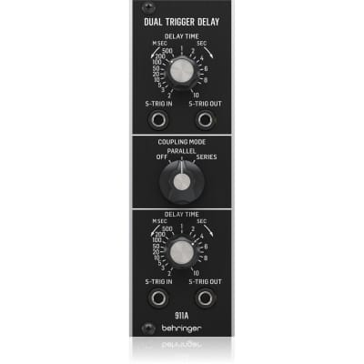 Behringer 911A Dual Trigger Delay Eurorack Synthesizer Module