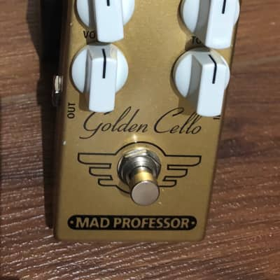 Mad Professor Golden Cello Combined Delay and Overdrive Effects Pedal for sale