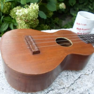 Harmony Roy Smeck  1950's Mahogany for sale