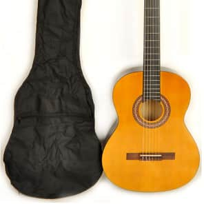 Omega Classical NA Full Size Acoustic Nylon String Guitar for sale