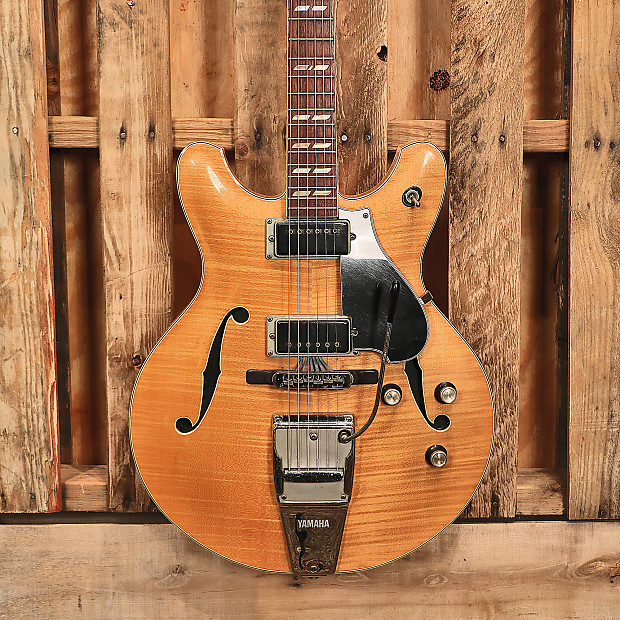 yamaha sa 50 hollow body electric guitar w piezo pickup ohsc reverb. Black Bedroom Furniture Sets. Home Design Ideas