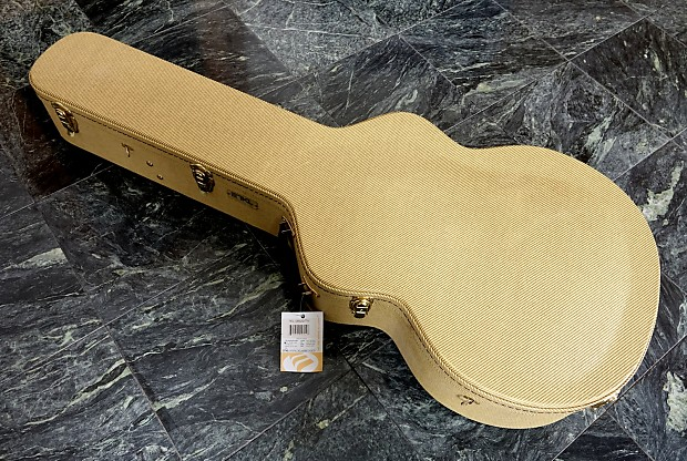 Tkl 17 Tweed Archtop Case Gibson Citation Legrand Reverb