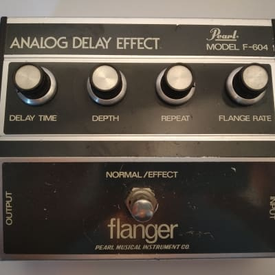 Pearl Model F-604 Flanger 1970s for sale