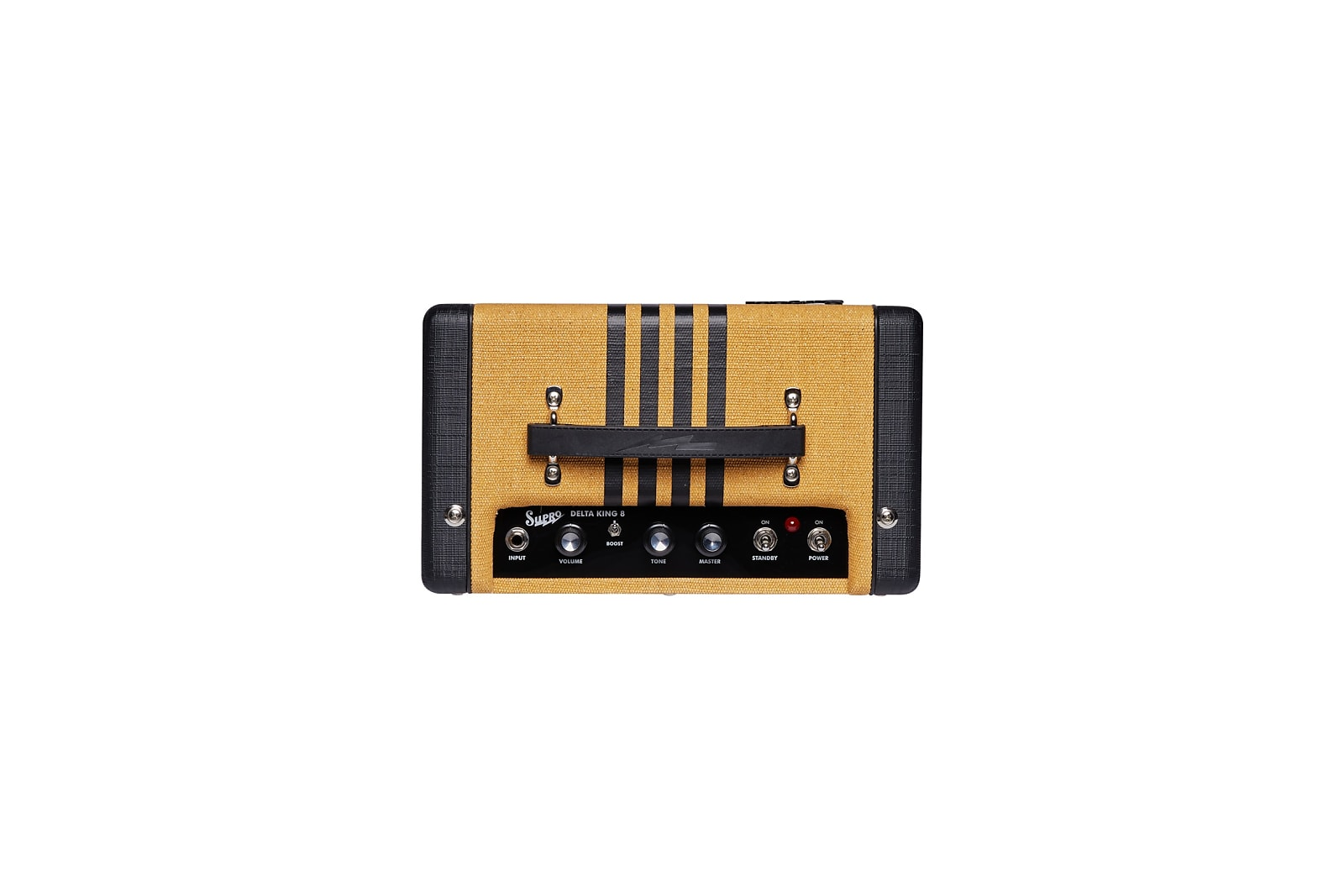 Supro 1818TB Delta King 8 1W 1x8'' Guitar Tube Combo Amplifier Tweed & Black