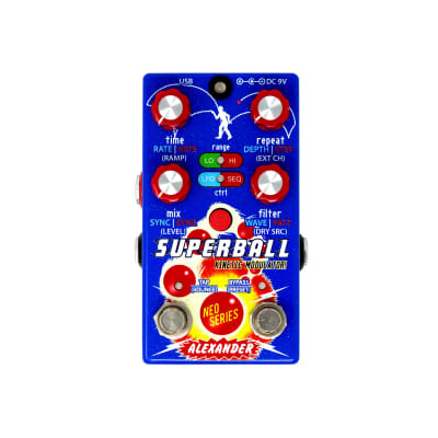 Alexander Pedals Superball Pitch Shifting Delay/Filter USED