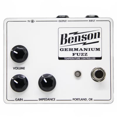 Benson Amps Germanium Fuzz