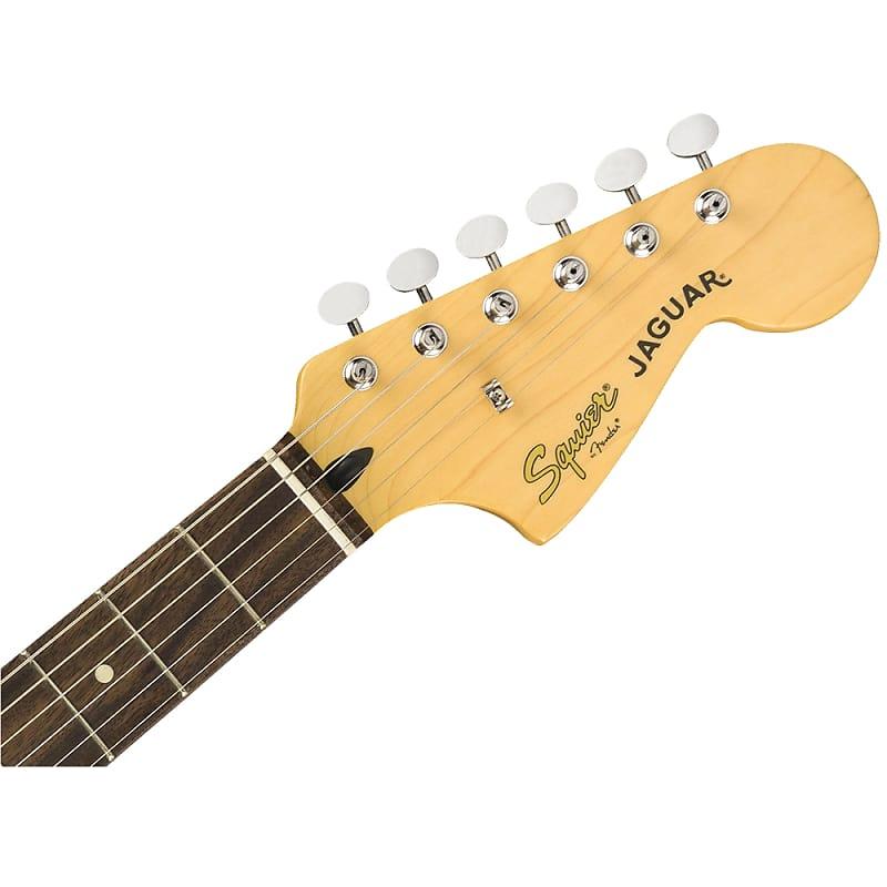 squier vintage modified jaguar maple neck electric guitar reverb. Black Bedroom Furniture Sets. Home Design Ideas