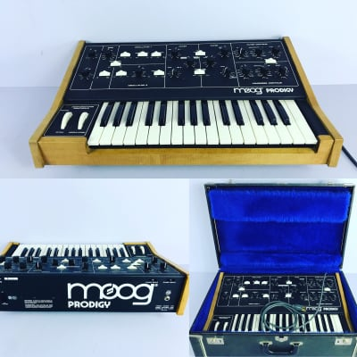 "Moog Prodigy Model 336A 1979 - 1984 + Custom Case ""Near mint"""