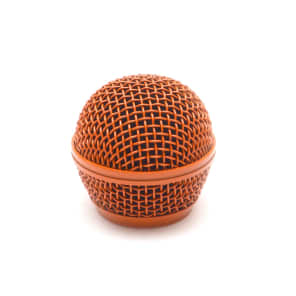 Seismic Audio SA-M30Grille-ORANGE Replacement  Steel Mesh Mic Grill Head
