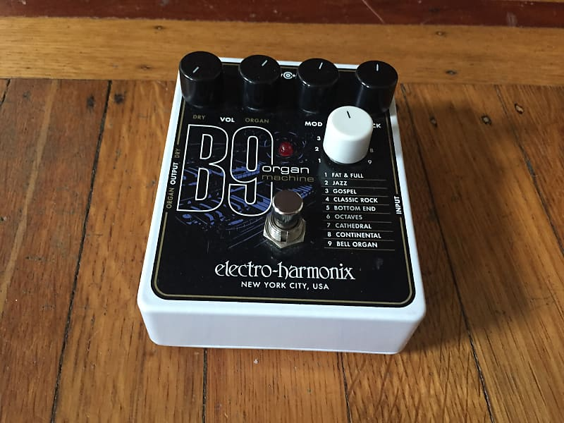 electro harmonix b9 organ machine pedal g 2 instruments reverb. Black Bedroom Furniture Sets. Home Design Ideas