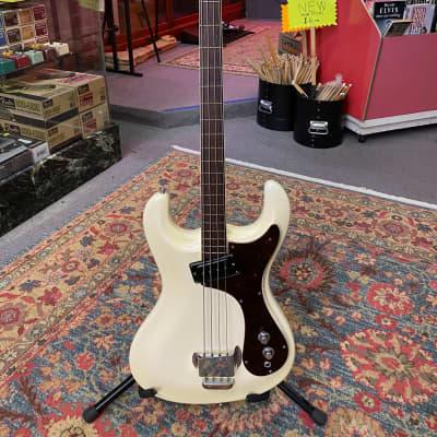 Mosrite Ventures Bass 1964 White for sale