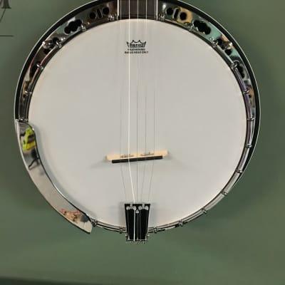 Washburn B11K 5-String Resonator Banjo- Upgraded- Grover Bridge- Daddario Strings for sale