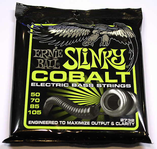 Ernie Ball 2732 REGULAR SLINKY COBALT ELECTRIC BASS STRINGS