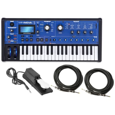 Novation Mininova Analogue-Modeling Synthesizer Bundle
