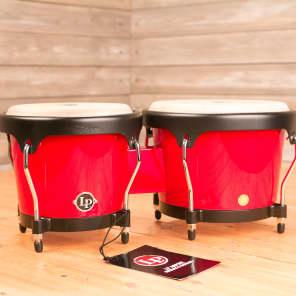 Latin Percussion LPA601F-RD Aspire Fiberglass Bongos