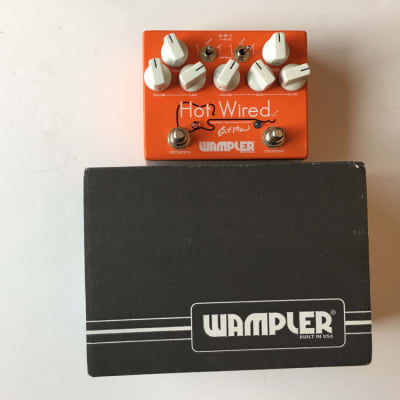 Wampler Hot Wired V2 Brent Mason Distortion Overdrive Guitar Effect Pedal + Box