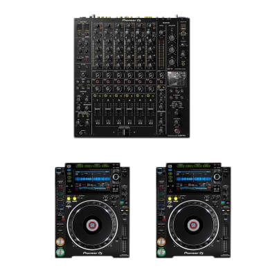 Pioneer DJ DJM-V10 6-Channel - Pioneer DJ CDJ2000NX2 (Pair)