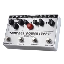 Mosky Audio Tone Bus. 3 Effects Pedal + 8 Outputs Power Supply in 1 Unit 2017 Nice!