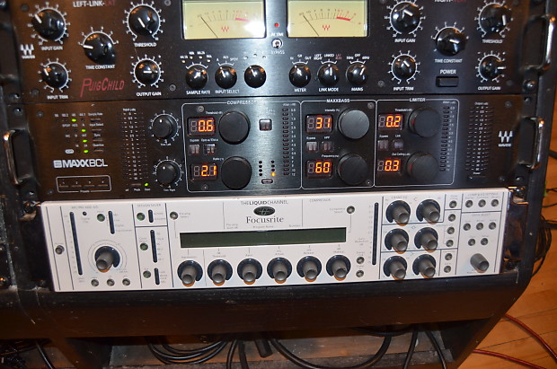 Waves MaxxBCL L2 mixing mastering hardware unit rack FOH Tracking music  chain black