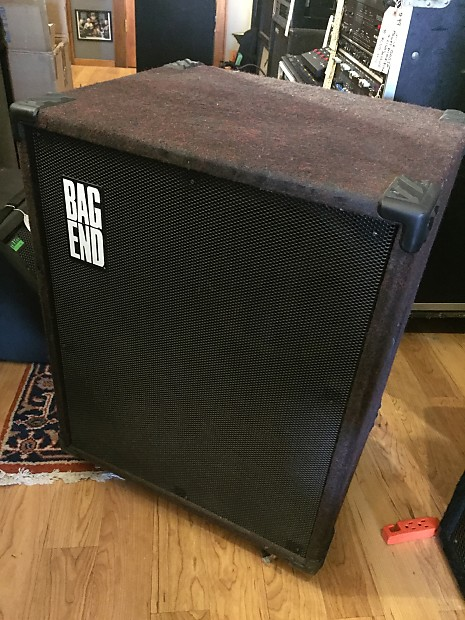 Bag End Q10b D Performance Loudspeaker 8 Ohm Bass Cabinet Empty With No Speakers W Wheels