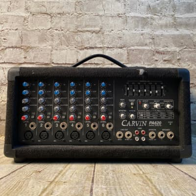 Carvin PA620 6 Channel Powered Mixer
