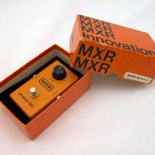 MXR Phase 90 Block Logo 1977 w/ original box