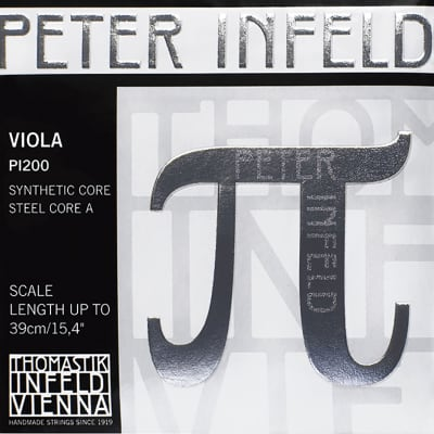 Thomastik-Infeld PI22A Peter Infeld Chrome Combo Wound Synthetic Core 4/4 Viola String - D (Medium)