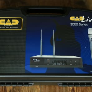 CAD WX3000 Wireless Dynamic Microphone System w/ D90 Capsule