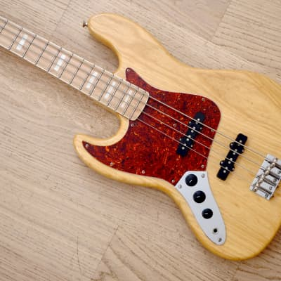 2006 Fender Jazz Bass '75 Vintage Reissue JB75-90US Ash Natural Left-Handed Japan CIJ, USA Pickups for sale
