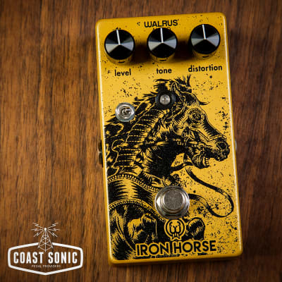 Walrus Audio Iron Horse LM308 Distortion V2 for sale