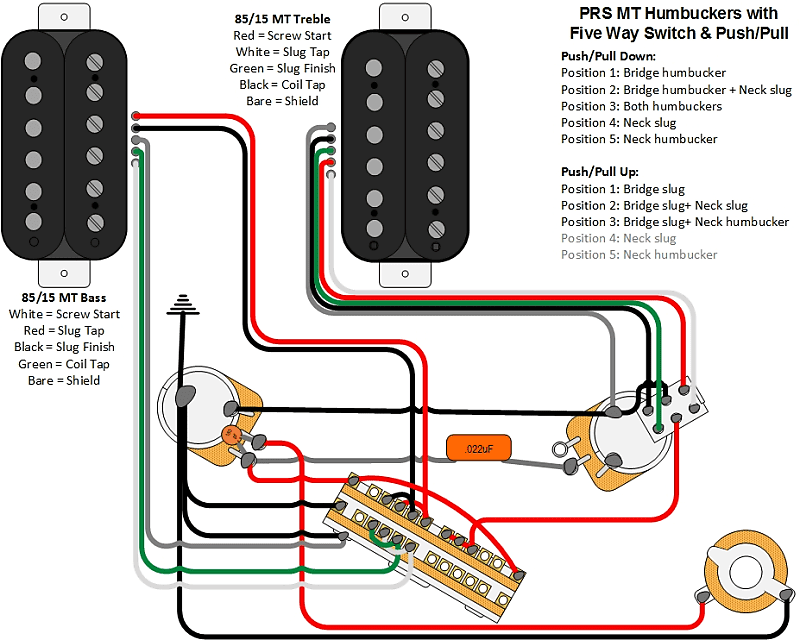 Prs Se Pickup Wiring Diagram from images.reverb.com